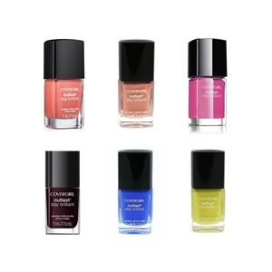 New: Lot of 6 Covergirl Outlast Polishes!
